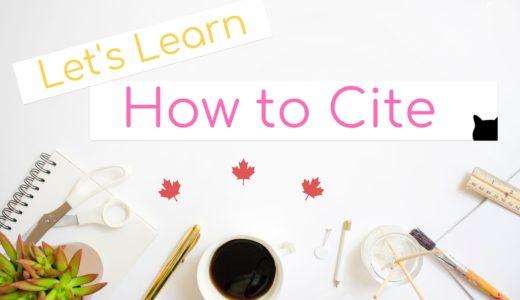 【カナダ高校留学】どこからがカンニング!?正しいCitation/引用方法を学ぼう!