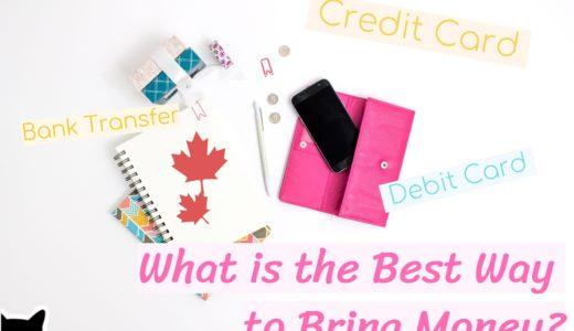 【カナダ高校留学】未成年もOK!海外でも使えるカードやお金の送金